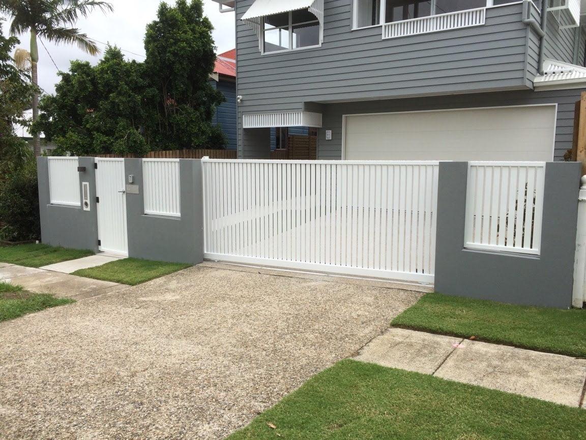 Aluminum Slat Fencing (20)