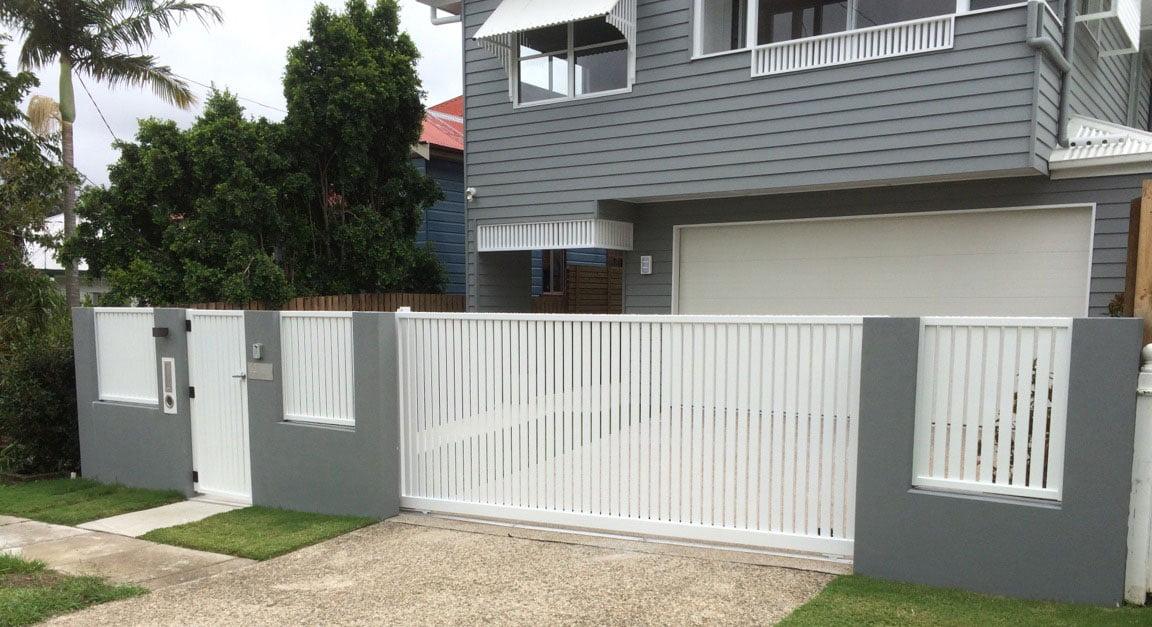 Aluminum Slat Fencing (3)